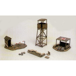 ITALERI Battlefield Buildings 6130 1:72 Accessories Model Kit