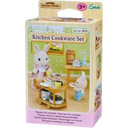 Kitchen Cookware Set - SYLVANIAN Families Figures 5090