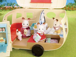 The Caravan Holiday Home - SYLVANIAN Families Figures 5045