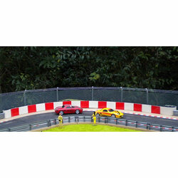 SLOT TRACK SCENICS Tyres, Covers & Fence Pack - for Scalextric
