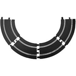 SCALEXTRIC Sport Track C8206 4x Standard Radius 2 Curves