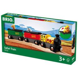 BRIO 33722 Safari Train for Wooden Train Set