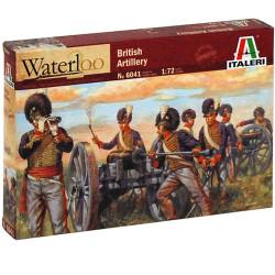 ITALERI Waterloo British Artillery 6041 1:72 Figures Model Kit