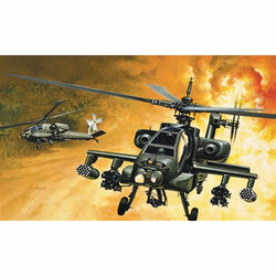 ITALERI AH-64 Apache Helicopter 159 1:72 Aircraft Model Kit