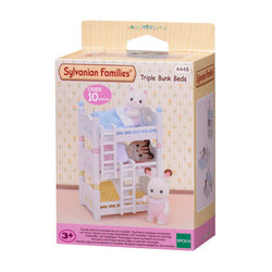 Triple Bunk Beds - SYLVANIAN Families Dolls Furniture 4448