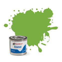 HUMBROL 38 Lime Gloss Enamel 14ml Model Kit Paint