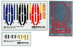 TAMIYA 12638 F1 Seat Belt Set F 1990s 1:20 F1 Car Model Kit