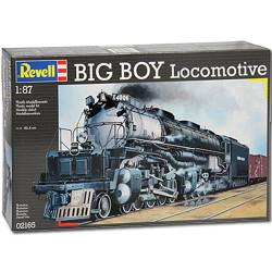 REVELL Big Boy Locomotive 1:87 Model Train Kit 02165