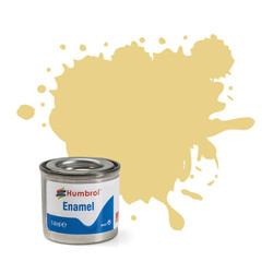 HUMBROL 103 Cream Matt Enamel 14ml Model Kit Paint