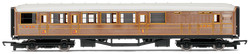 HORNBY Coach R4333 LNER Teak Brake Railroad