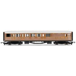 HORNBY Coach R4333 LNER Teak Brake Railroad