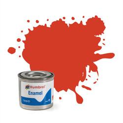 HUMBROL 174 Signal Red Satin Enamel 14ml Model Kit Paint