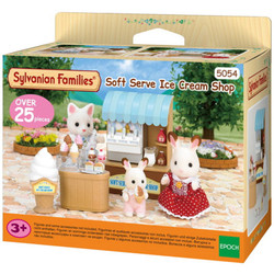 Soft Serve Ice Cream Shop - SYLVANIAN Families Figures 5054