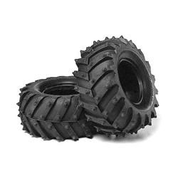 Tamiya 50374 Monster Pin Spike Tyres (2pcs) - RC Car Spares