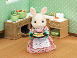 Kitchen Cooking Set - SYLVANIAN Families Figures 5028