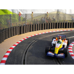 SLOT TRACK SCENICS FK2 Fencing Kit Straight Staunchions - for Scalextric