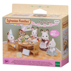 Party Set - SYLVANIAN Families Figures Dolls Furniture 4269