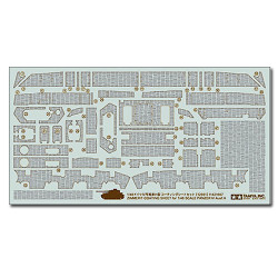 TAMIYA 12661 Zimmerit Coating Sheet - Panzer IV 1:48 Military Model Kit
