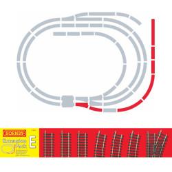 HORNBY R8225 TrakMat Track Extension Pack E