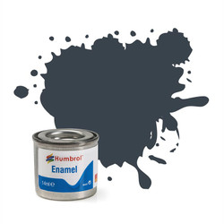 HUMBROL 32 Dark Grey Matt Enamel 14ml Model Kit Paint
