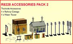 HORNBY R8228 Accessories Pack 2 Buildings