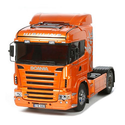 TAMIYA RC 56338 Scania R470 pre-painted Orange 1:14 Assembly Kit