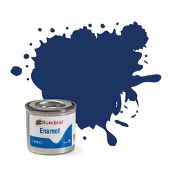 HUMBROL 15 Midnight Blue Gloss Enamel 14ml Model Kit Paint