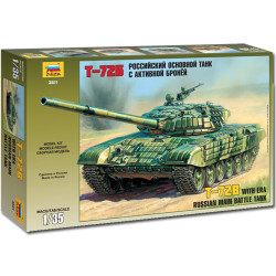 ZVEZDA 3551 Russian Main Battle Tank T-72b 1:35 Military Model Kit