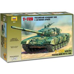 ZVEZDA 3551 Russian Main Battle Tank T-72b 1:35 Military Model Kit