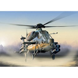 ITALERI A-129 Mangusta Helicopter 006 1:72 Aircraft Model Kit