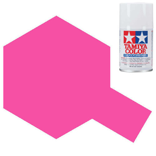 4ab9199d68bfb TAMIYA PS-29 Fluorescent Pink Polycarbonate Spray Paint 100ml Lexan RC Car  Body