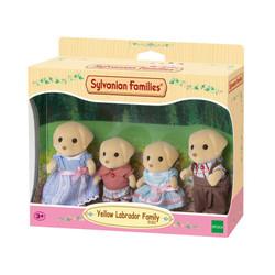 Yellow Labrador Family - SYLVANIAN Families Figures 5182
