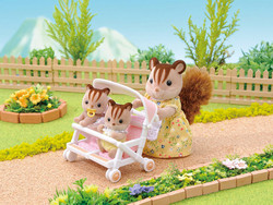 Double Pushchair - SYLVANIAN Families Figures 4533