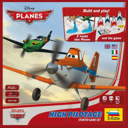 ZVEZDA 2160 High Pilotage Starter Board Game Disney Planes 1:100