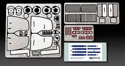 TAMIYA 12639 Lotus 79 1979 Etch Parts 1:20 F1 Car Model Kit