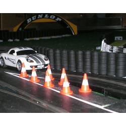 SLOT TRACK SCENICS ACC1 10 Traffic Cones - for Scalextric