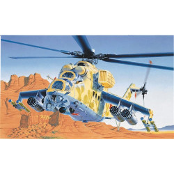 ITALERI MIL-24 Hind D/E Helicopter 014 1:72 Aircraft Model Kit