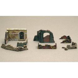 ITALERI Walls & Ruins 2 6090 1:72 Accessories Model Kit