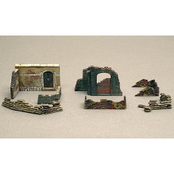 ITALERI Walls & Ruins 2 6090 1:72 Accessories Model Kit