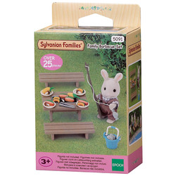 Family Barbecue Set - SYLVANIAN Families Figures 5091