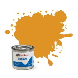 HUMBROL 54 Brass Metallic Enamel 14ml Model Kit Paint