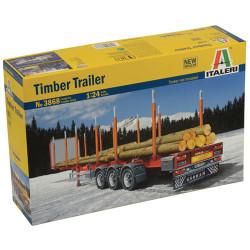 ITALERI Timber Truck 3868 1:24 Model Kit Trucks