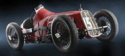 ITALERI Fiat 806 Grand Prix Classic Car 4702 1:12 Model Kit