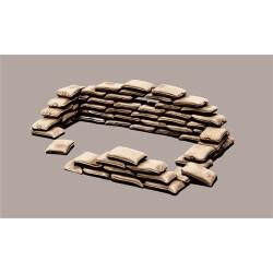 ITALERI Sandbags 406 1:35 Accessories Model Kit