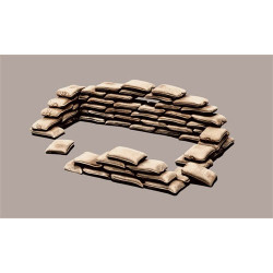 ITALERI Sandbags 406 1:35 Accessories Model Kit