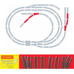 HORNBY Track R8226 Track Pack F