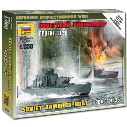 ZVEZDA 6164 Soviet Armoured Boat 1:350 Military Model Kit