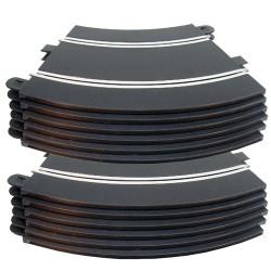 SCALEXTRIC Sport Track C8206 12x Standard Radius 2 Curves