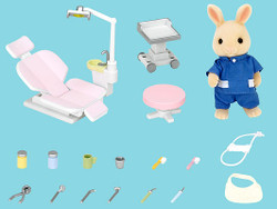 Country Dentist Set - SYLVANIAN Families Figures 5095