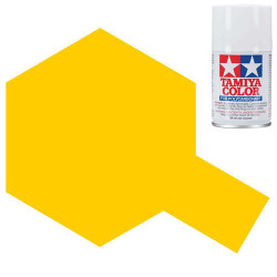 TAMIYA PS-42 Translucent Yellow Polycarbonate Spray Paint 100ml RC Car Body